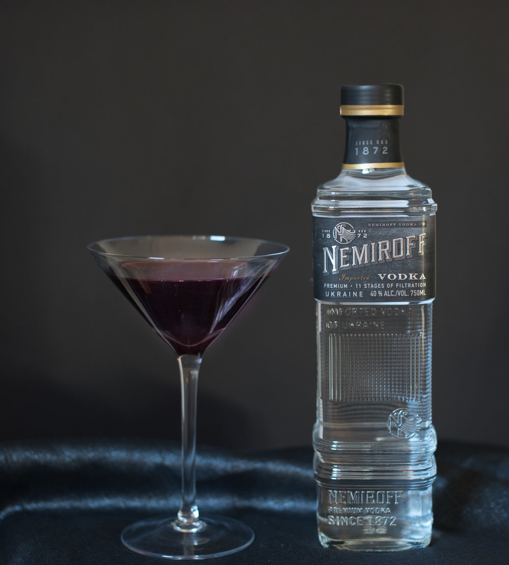 Nemiroff Vodka Halloween Cocktail
