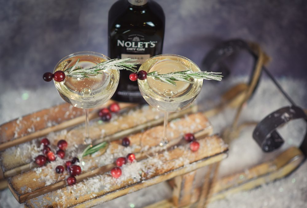 Nolet's Gin Winter White