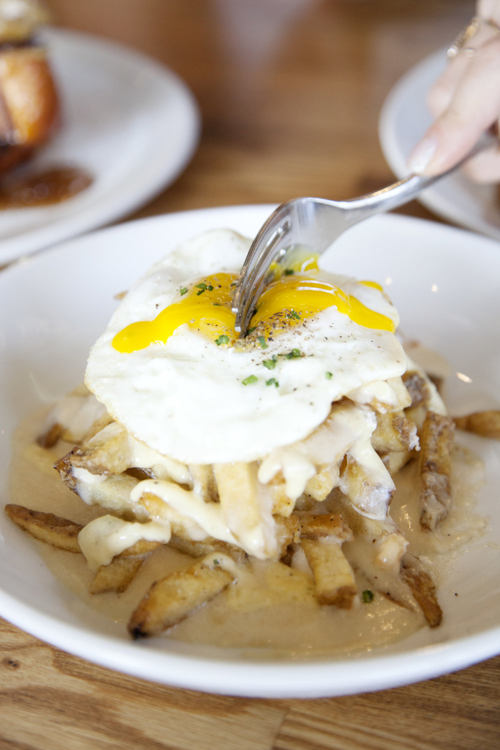 Mornay Fries at Trust San Diego