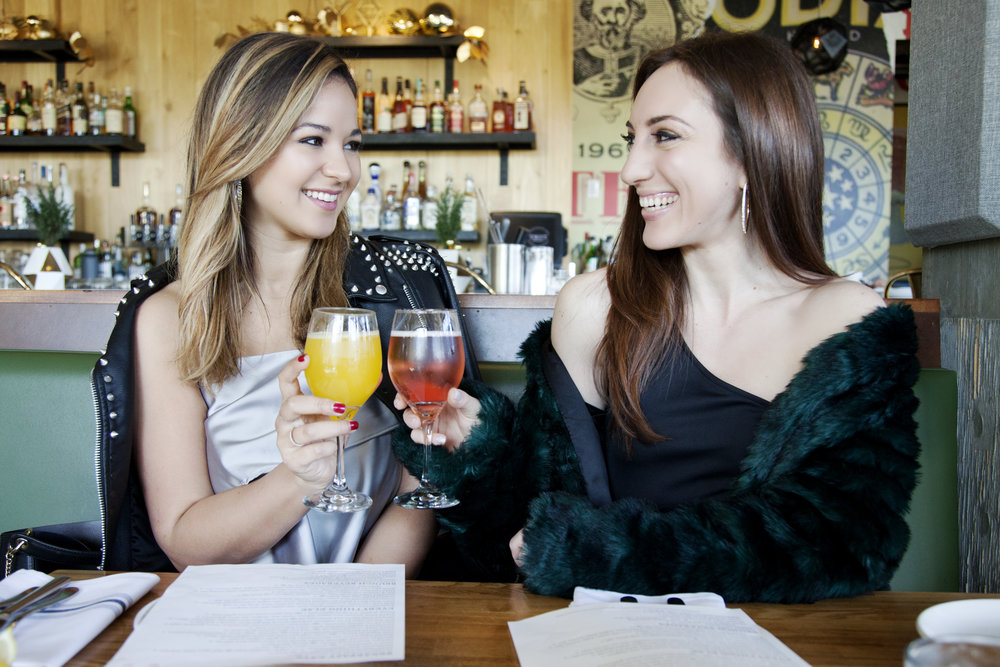 Shakira Blair and Brielle Galekovic of The Gilded Bellini at TRUST San Diego