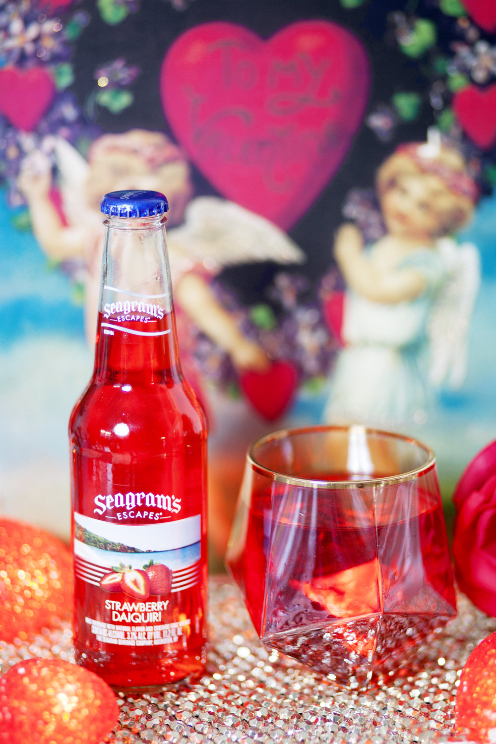 Seagram's Escapes Strawberry Daiquiri