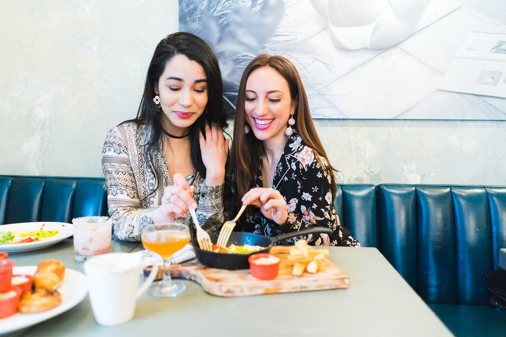 Brielle Galekovic of The Gilded Bellini and Alex Mazzucchelli at Brigitte NYC