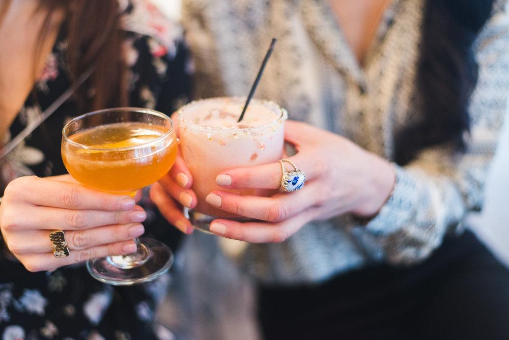 Cocktails at Brigitte NYC