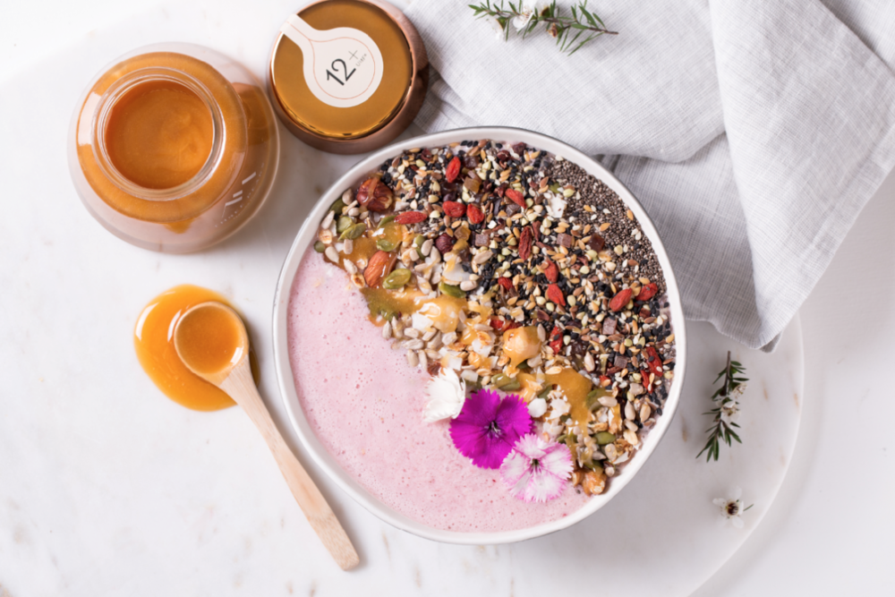Three Peaks Manuka Honey Smoothie Bowl