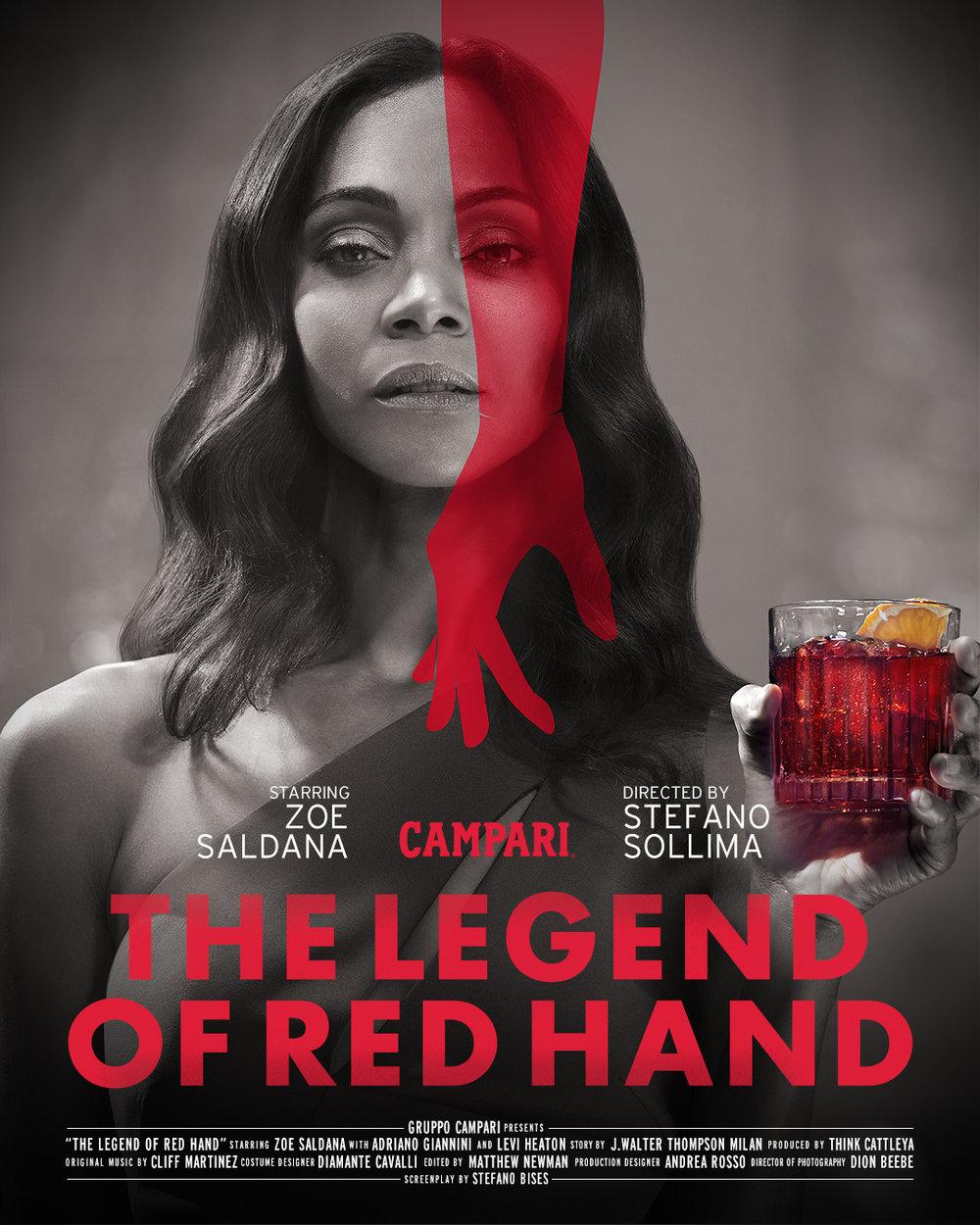Zoe Saldana - The Legend of Red Hand