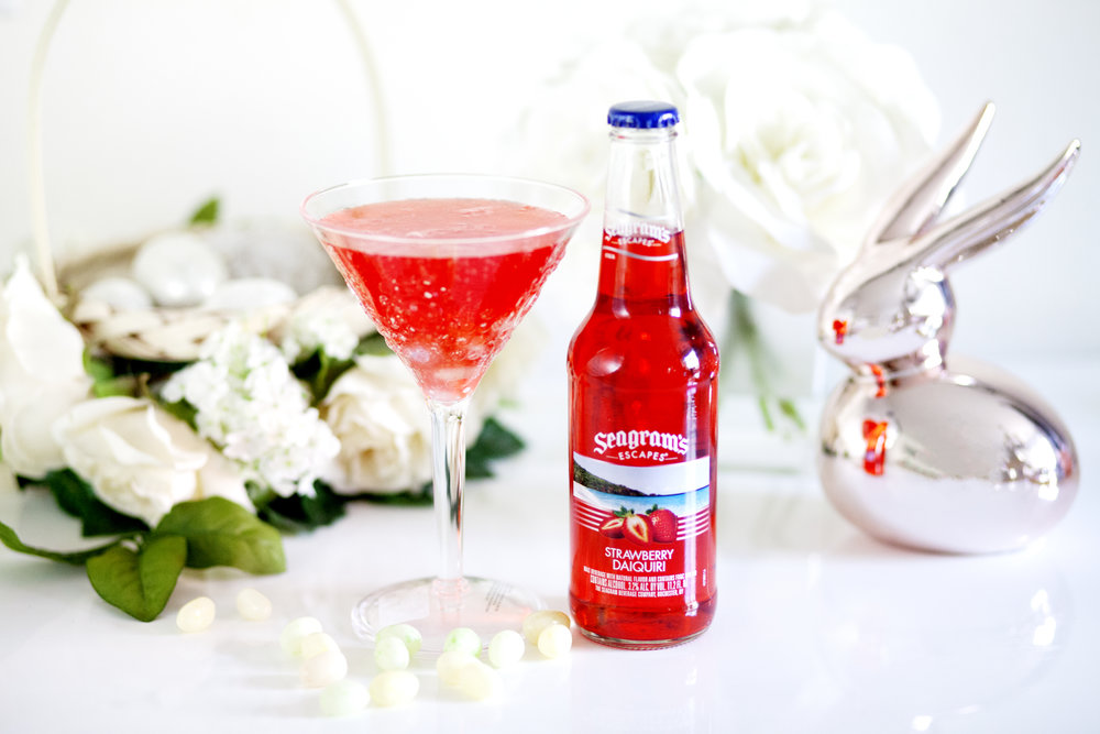 Seagram's Escapes Easter Cocktails on The Gilded Bellini
