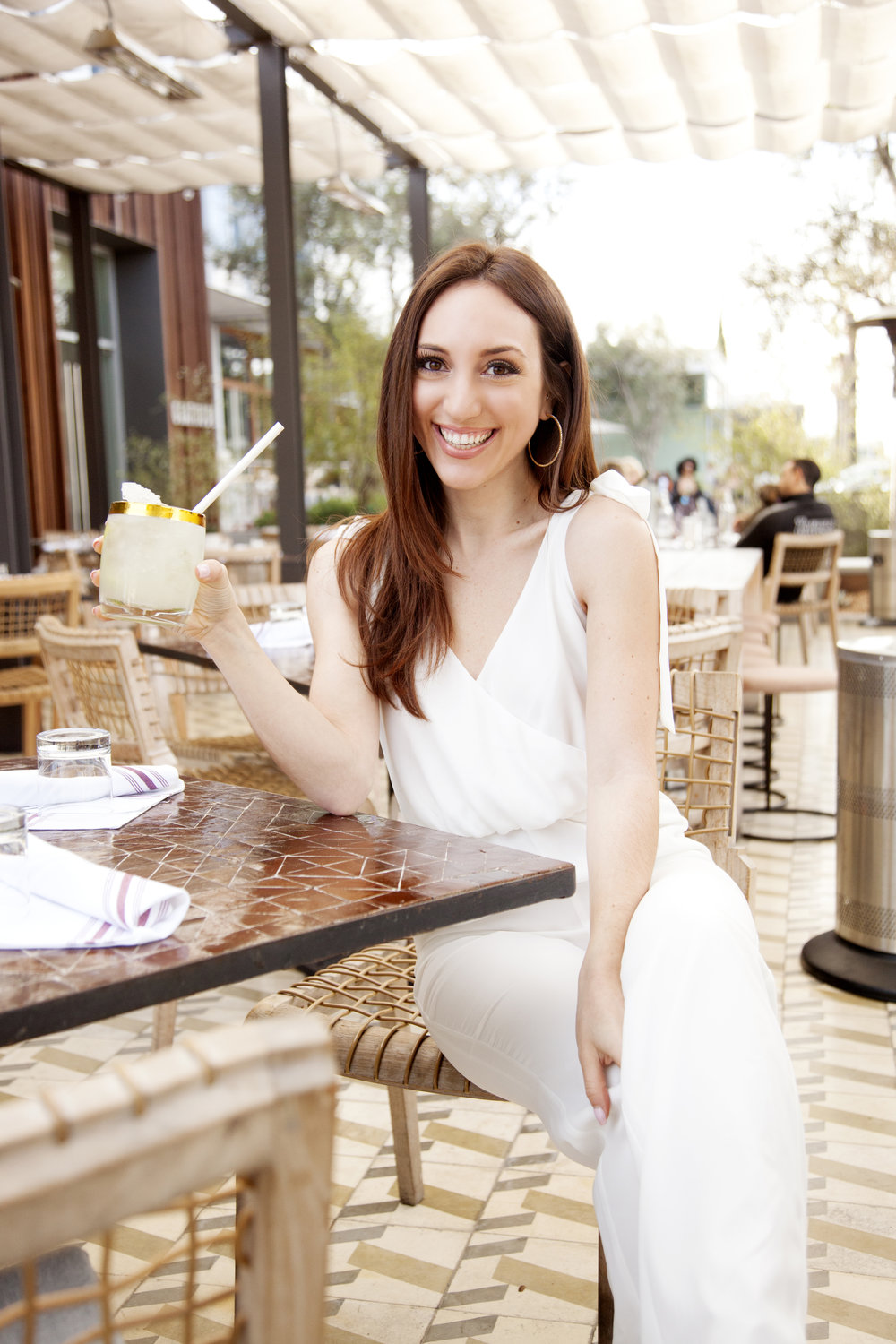 Brielle Galekovic of The Gilded Bellini at Cafe Gratitude