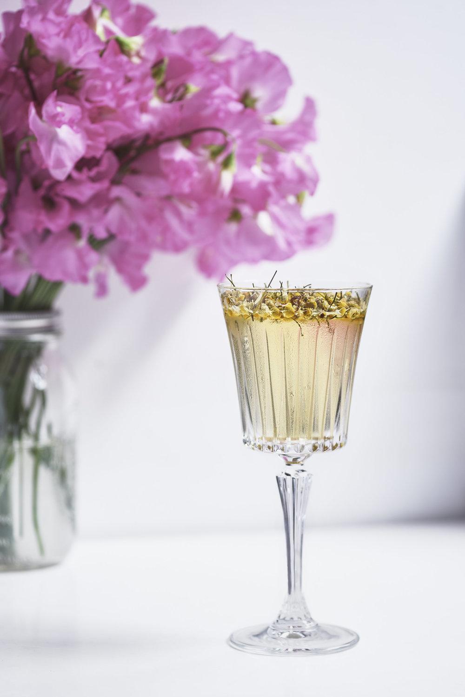 Ruffino Wine Bee Pollen Cocktail