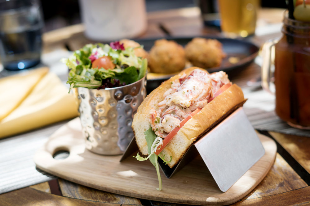 Lobster Roll at Cattle & Claw