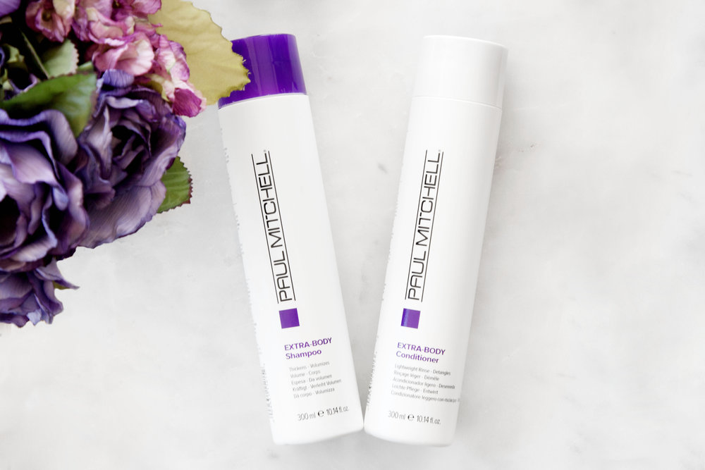 Paul Mitchell Extra Body Shampoo and Conditioner