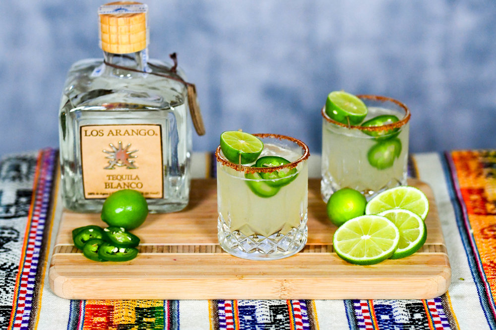 Los Arango Spicy Ginger Margarita