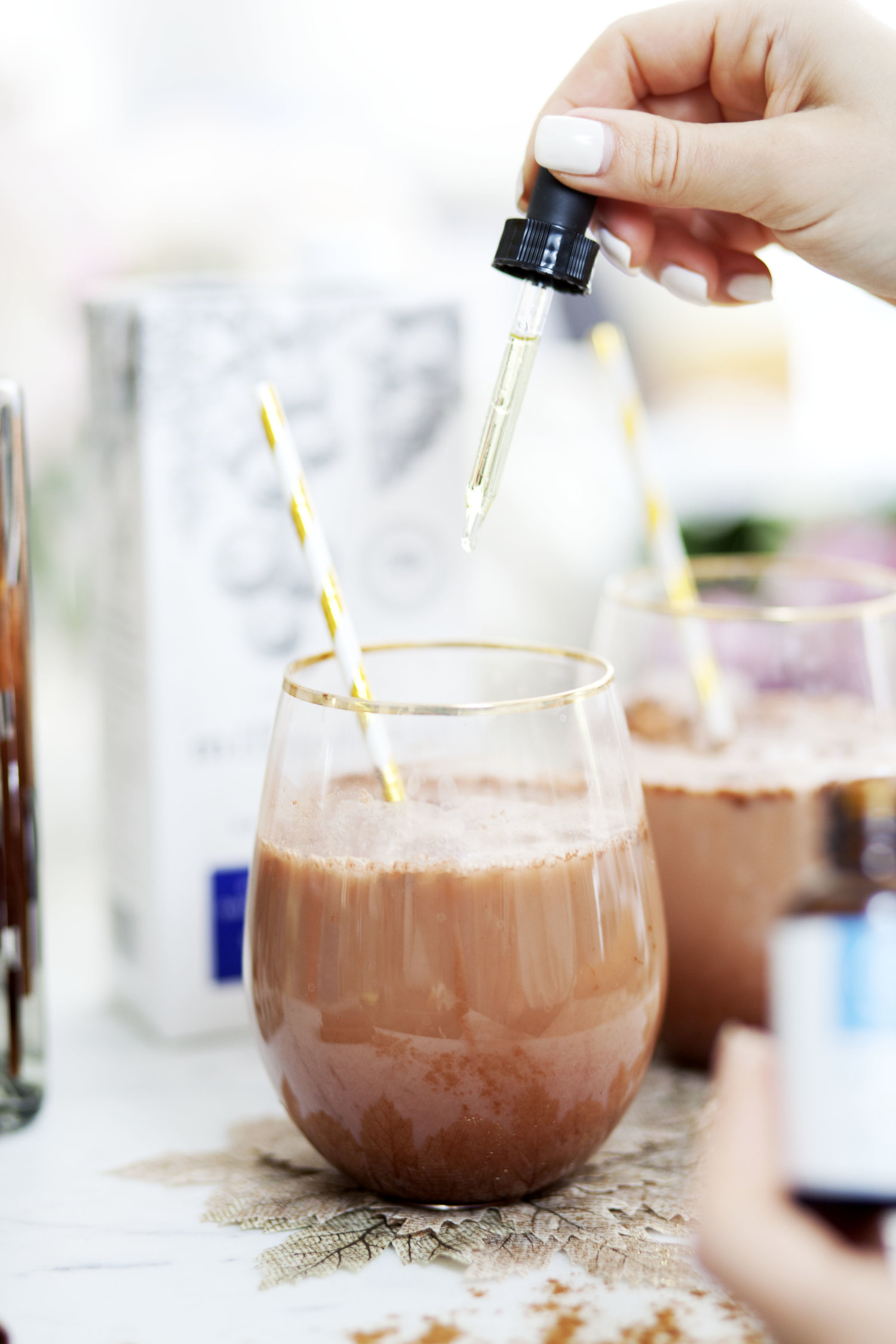 My Sweet Vanilla Mint Cacao CBD Cocktail Recipe - Pure Bloom