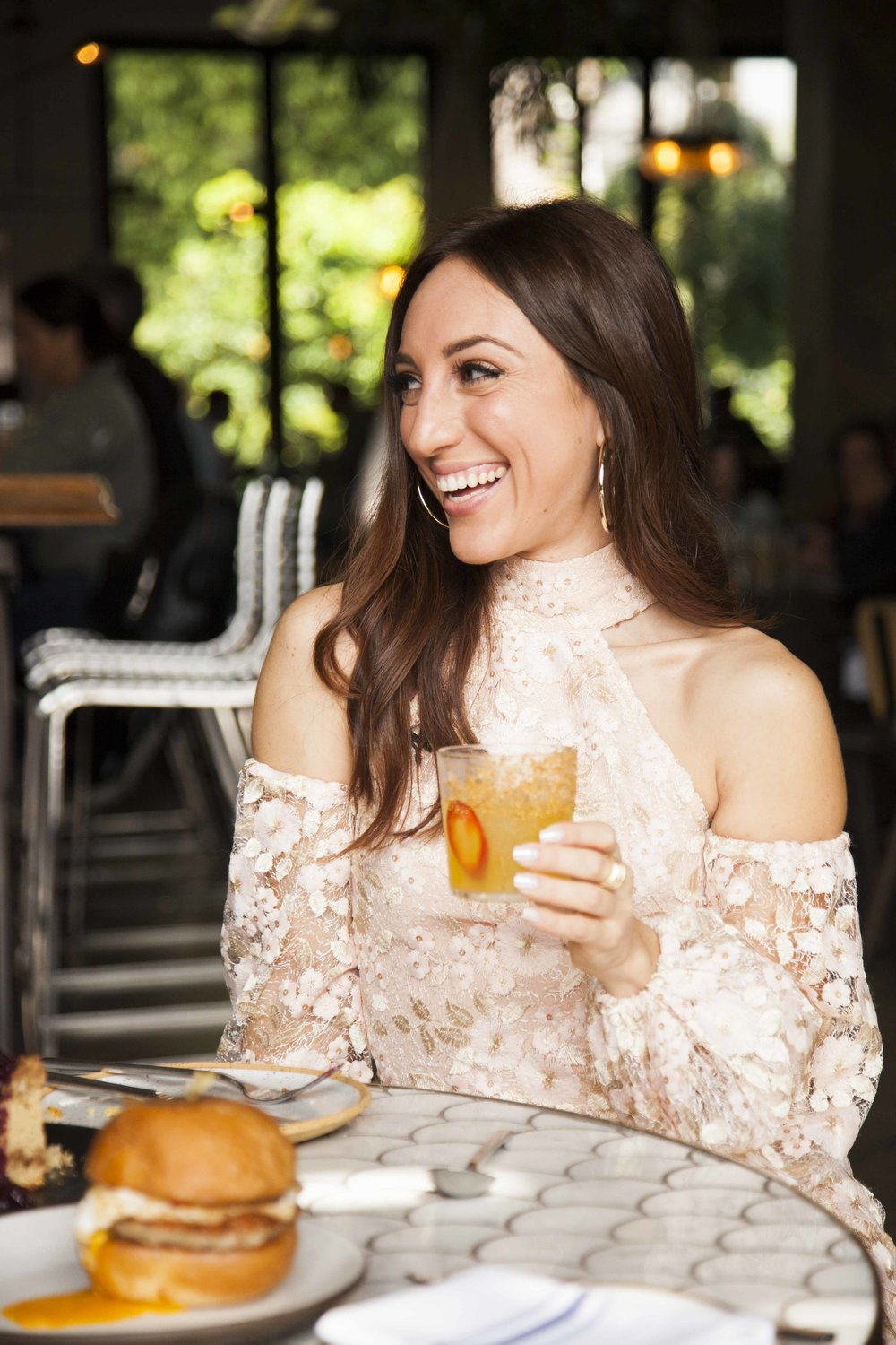 Brielle Galekovic of The Gilded Bellini at Norah West Hollywood