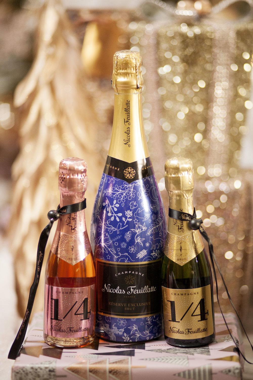 Nicholas Feuillatte Champagne - One Fo(u)r Champagne - The Gilded Bellini