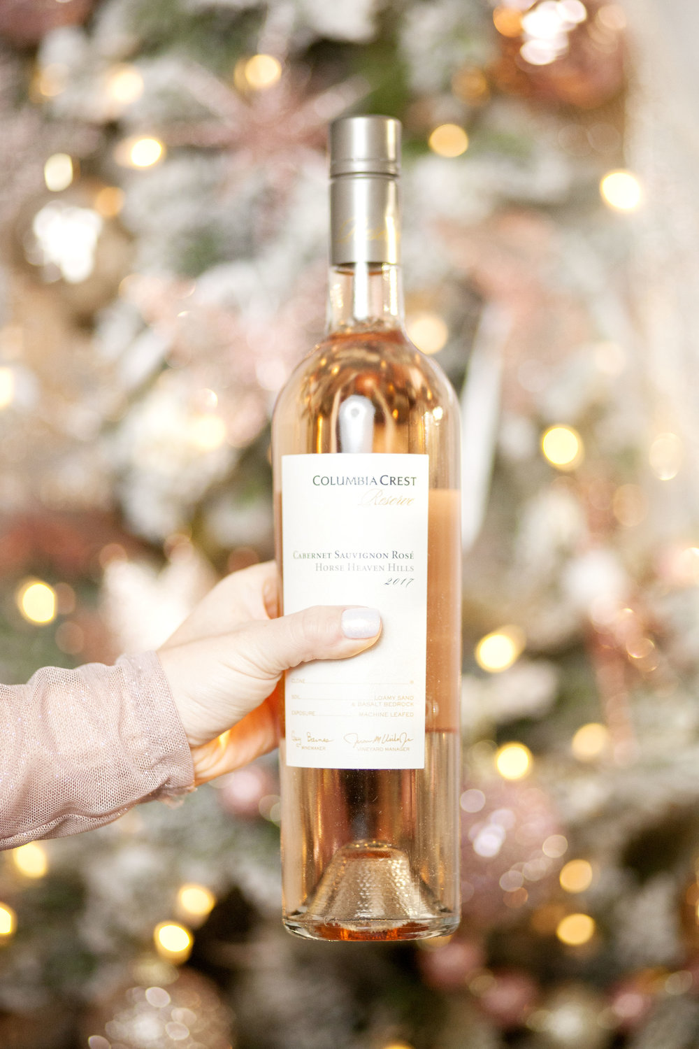 Columbia Crest Reserve Rosé - The Gilded Bellini Holiday Gift Guide