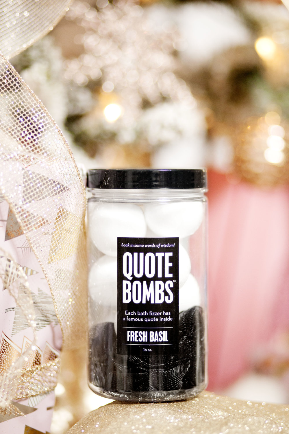 Quote Bombs - The Gilded Bellini Holiday Gift Guide