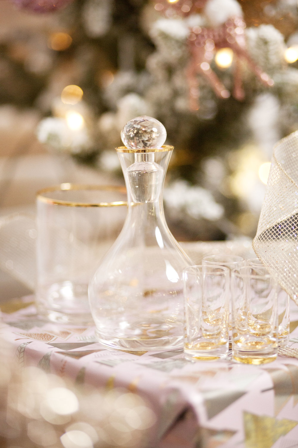 Z Gallerie Salud Decanter Set - The Gilded Bellini Holiday Gift Guide