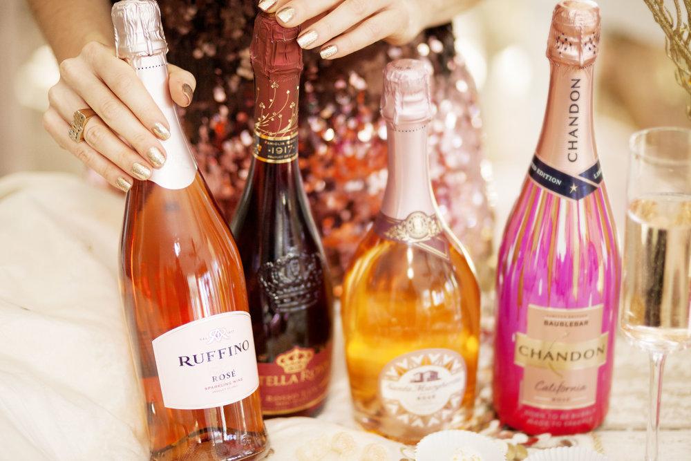 Ruffino Sparkling Rosé - The Gilded Bellini