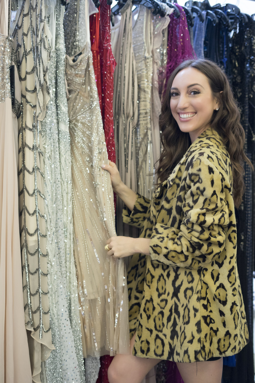 Brielle Galekovic of The Gilded Bellini at 260 Sample Sale LA