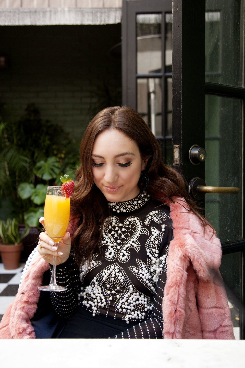 Brielle Galekovic of The Gilded Bellini - Valentine's Day Brunch Date Spots in LA