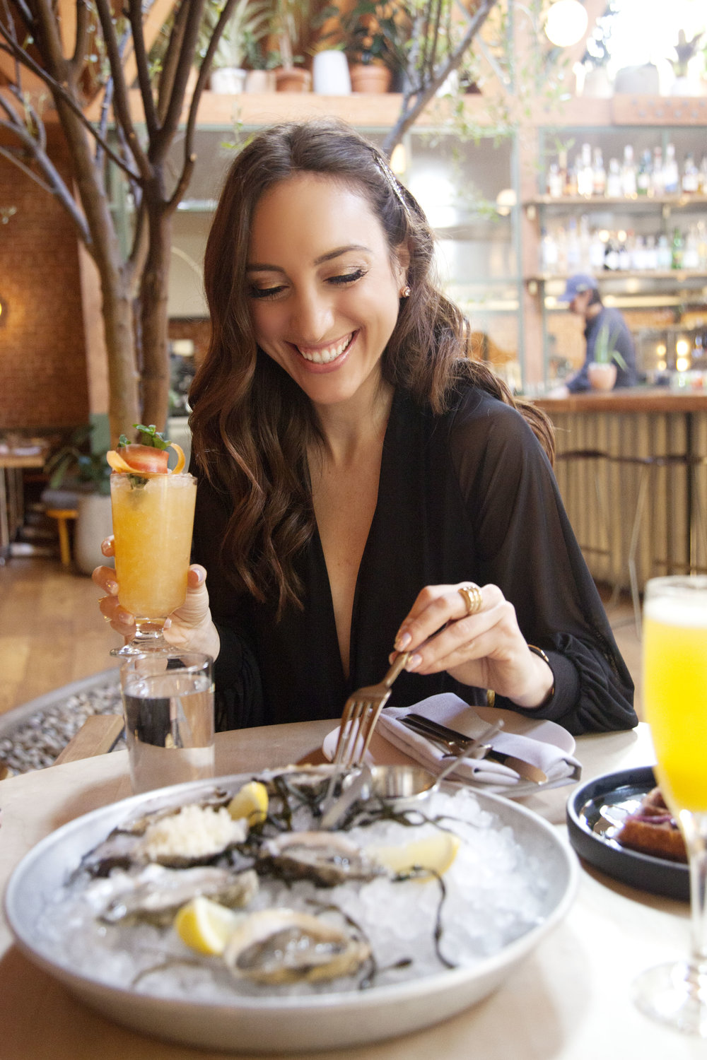 Atrium Los Angeles - Brielle Galekovic of The Gilded Bellini - Valentine's Day Brunch Date Spots in LA