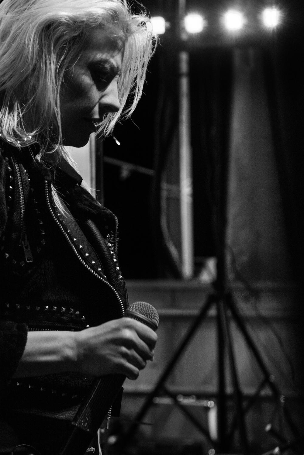 Amanda Kiernan, of Into Eternity, Farmageddon 2015