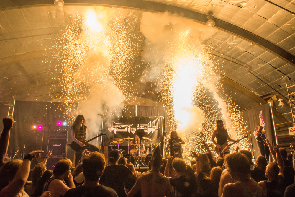 West of Hell, Armstrong MetalFest 2014, with a little surprise for everyone