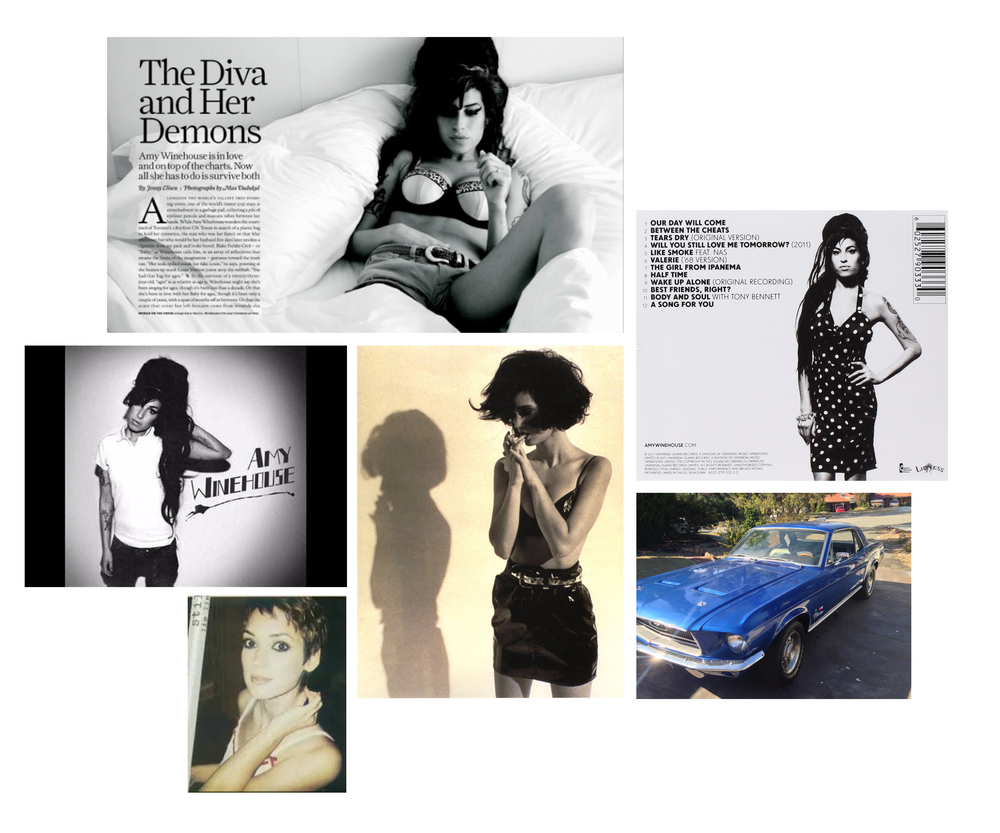 Moodboard for kim Gidlestone shoot