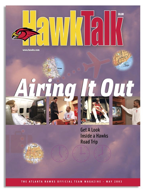 Magazine for season ticket holders of the Atlanta Hawks