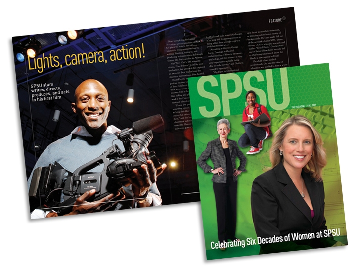 Alumni magazine for Southern Polytechnic State University