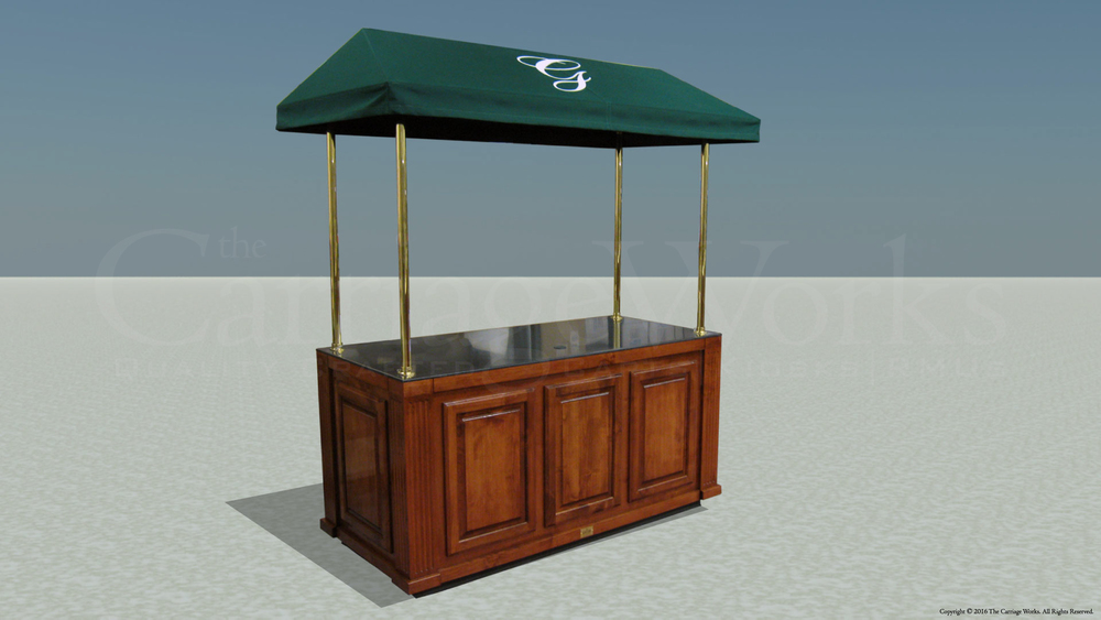 Indoor Coffee Cart