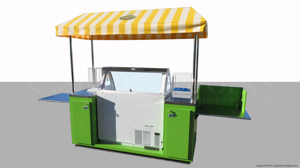Outdoor Gelato Cart