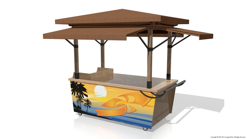 Outdoor Retail Cart