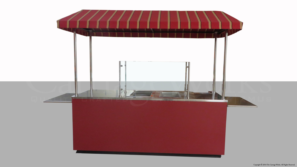 Outdoor Food Cart