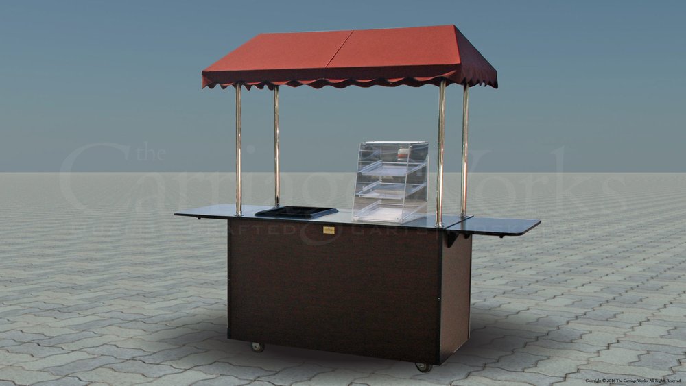 Outdoor Coffee Cart