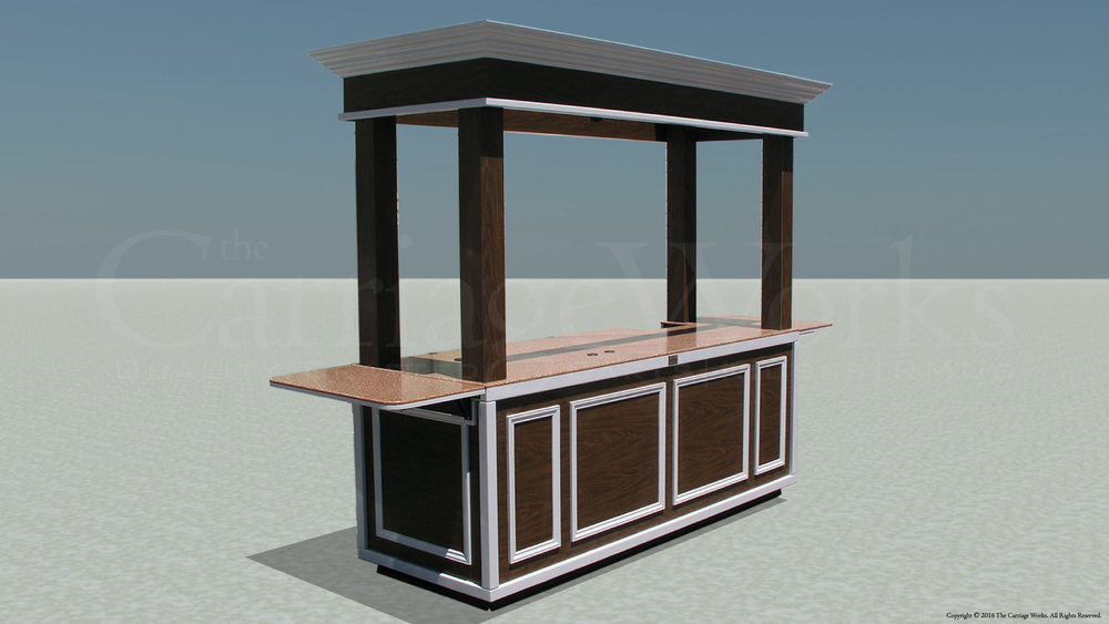 Indoor Espresso Cart