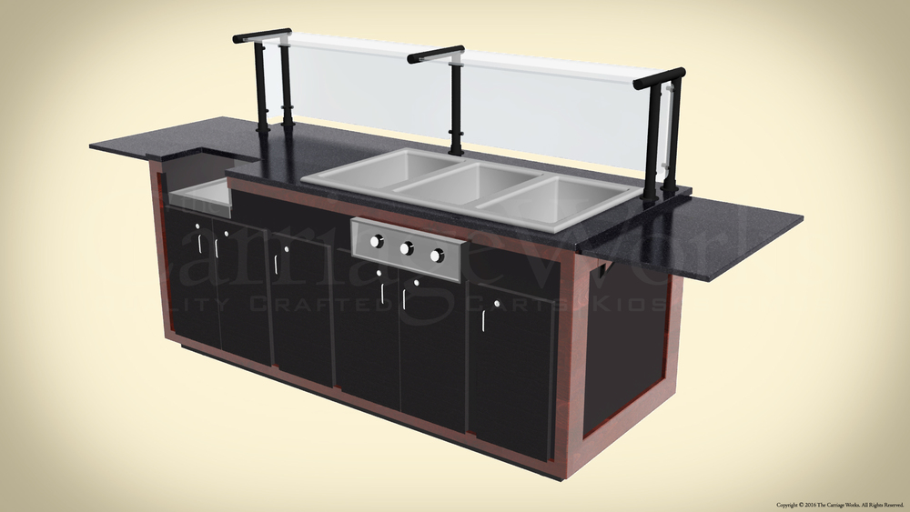 Indoor Bar Cart