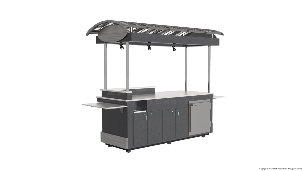 Indoor Food Service Cart