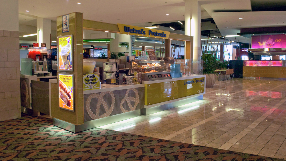 Indoor Food Kiosk
