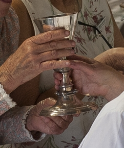 What is Holy Communion?    Holy Communion is a sharing together of bread and wine, in which we are invited to be part of God's life in Jesus Christ.    It can also be known as the Mass, Eucharist, or the Lord's Supper. Christ shared supper with his closest group of friends and said to 'do this in memory of me' – so this is what many Christians seek to do.