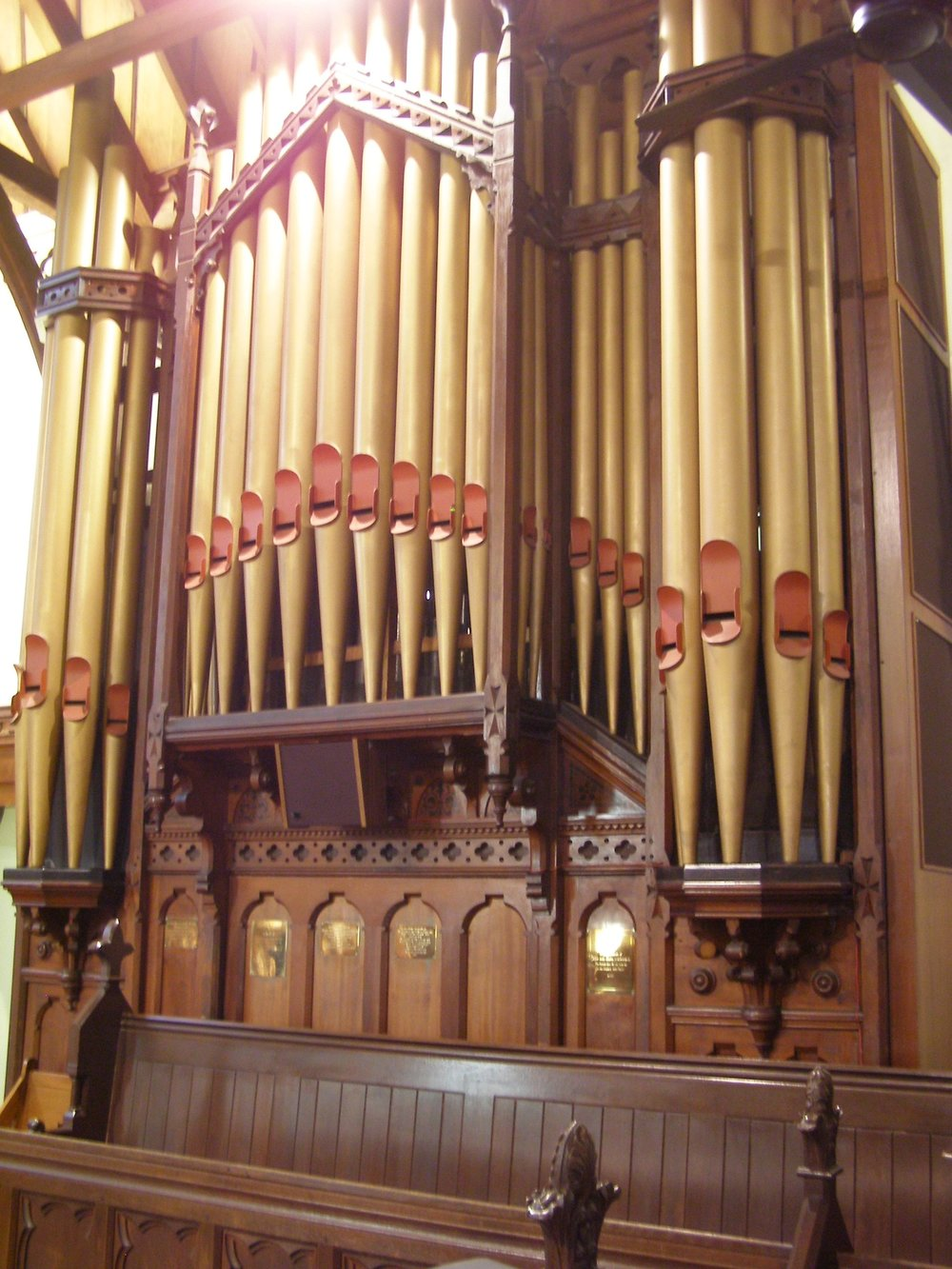 1882 Cole & Duckworth pipe organ