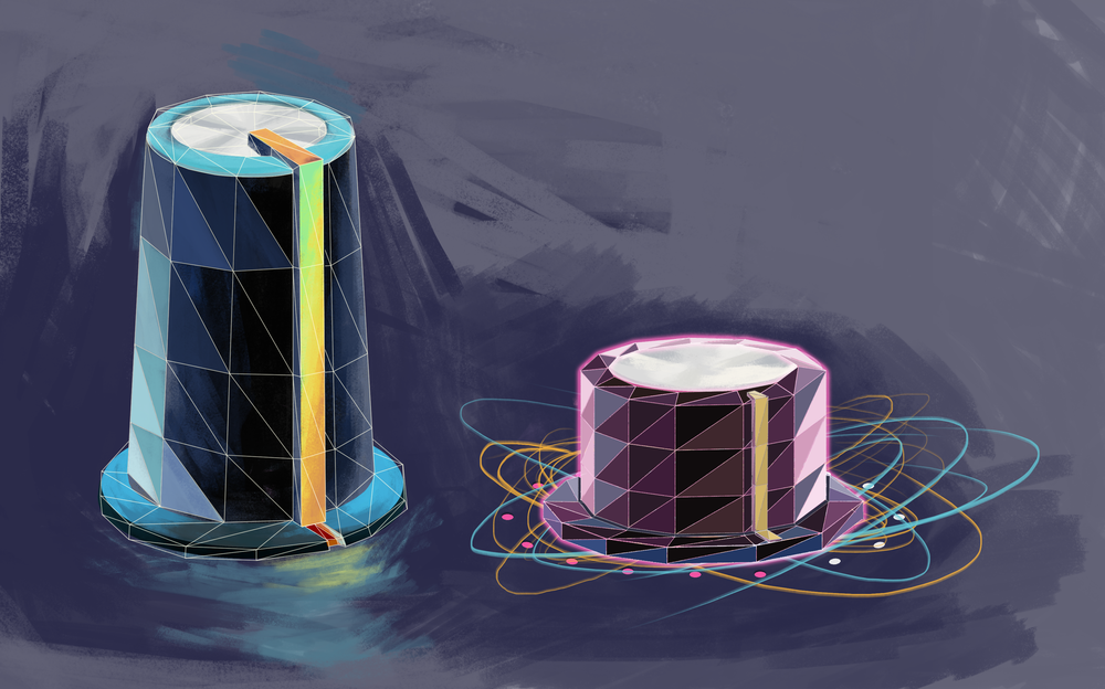 Concept Art for knobs