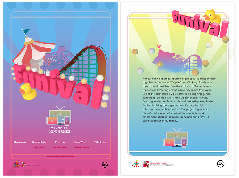 Poster and brochure front/back design