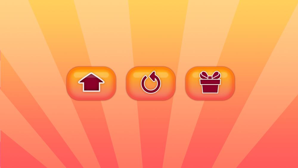 Home, resume, and gift store icons