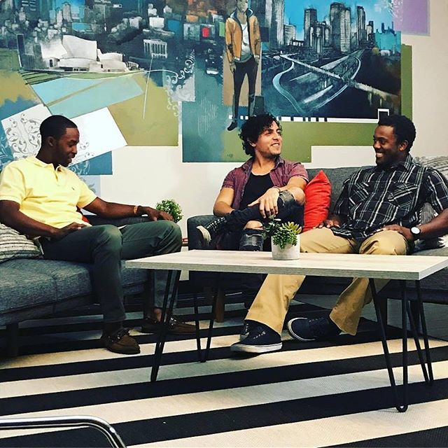 Had the privilege of sitting in with @realitycheckla the other day to discuss healthy relationships and identity.  Such a privilege to know this incredible group of world changers. #realitycheckla