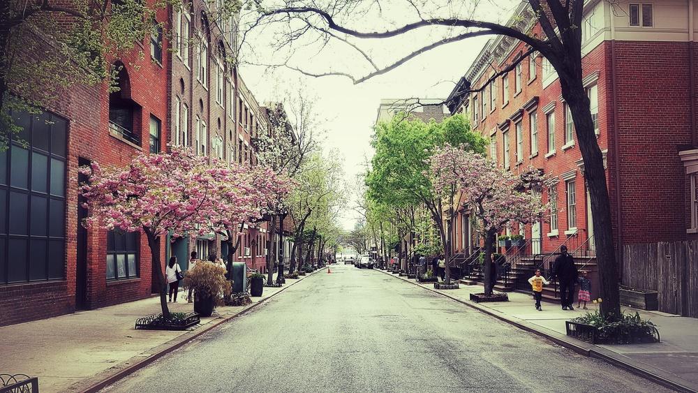 NEW YORK, SPRING.