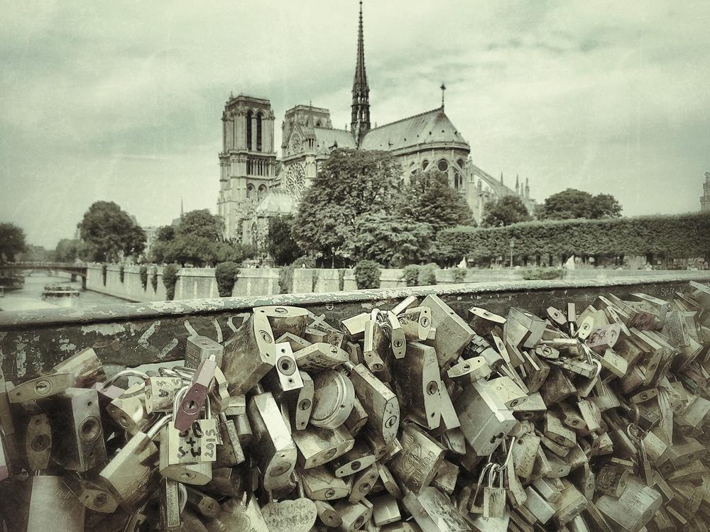 Notre Dame, Paris, August 2015