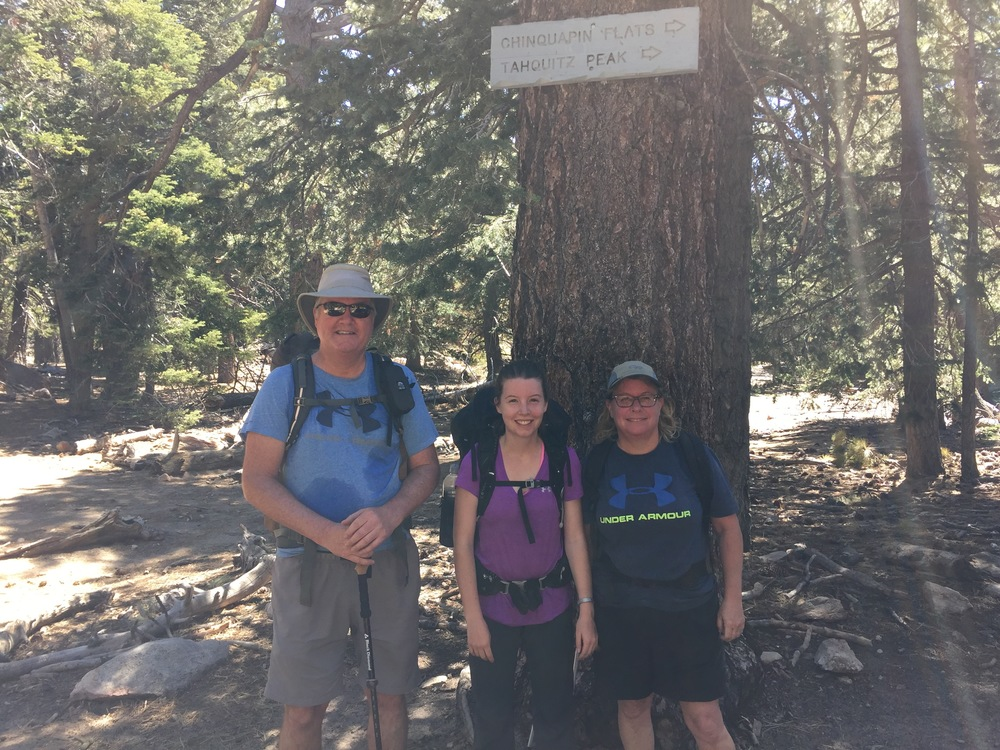 Three Musketeers on the PCT