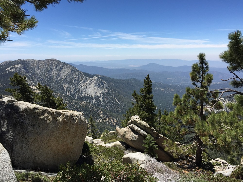 Tahquitz Rock in the distance