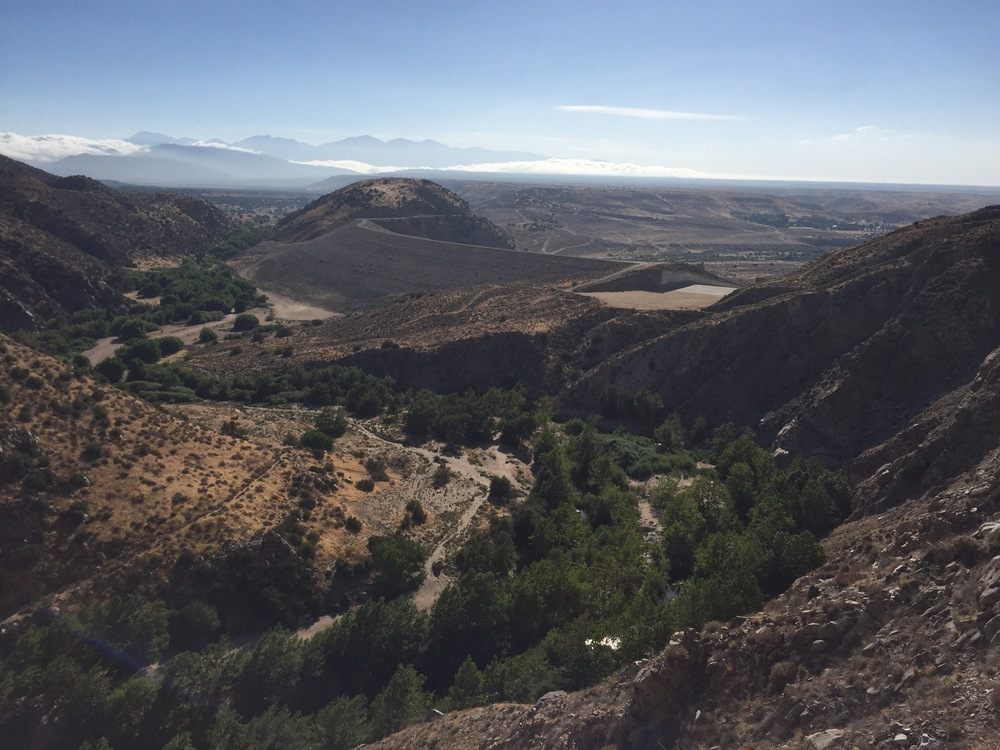 Mojave reservoir